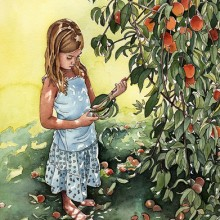 "View ""Girl Under a Peach Tree"""